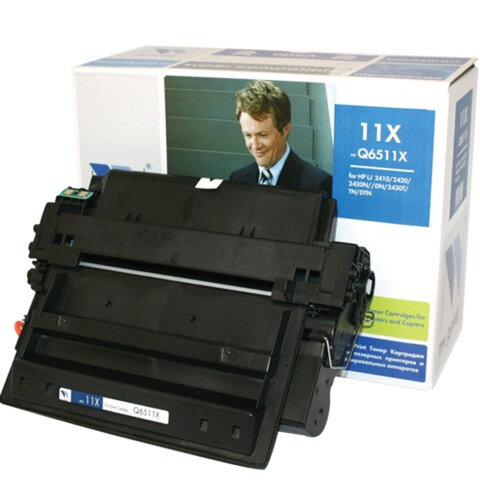 Картридж лазерный HP (Q6511X) LaserJet 2410/<wbr/>2420/<wbr/>2430, ресурс 12000 страниц, NV PRINT, СОВМЕСТИМЫЙ