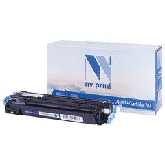 Картридж лазерный HP (Q6001A) ColorLaserJet CM1015/<wbr/>2600, голубой, ресурс 2000 страниц, NV PRINT, СОВМЕСТИМЫЙ