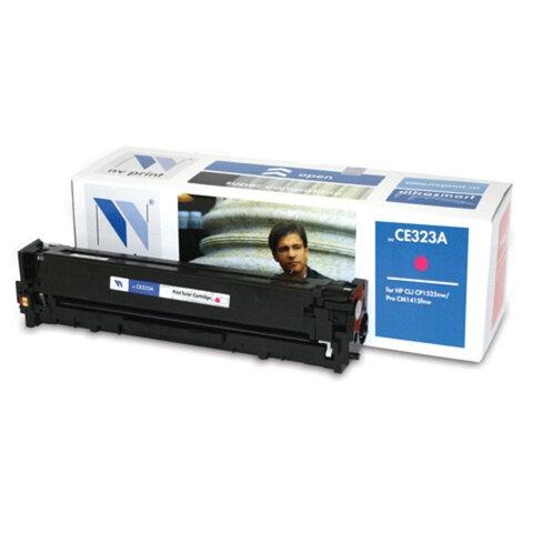 Картридж лазерный HP (CE323A) LaserJet CM1415FN/<wbr/>CP1525N, пурпурный, ресурс 1300 страниц, NV PRINT, СОВМЕСТИМЫЙ