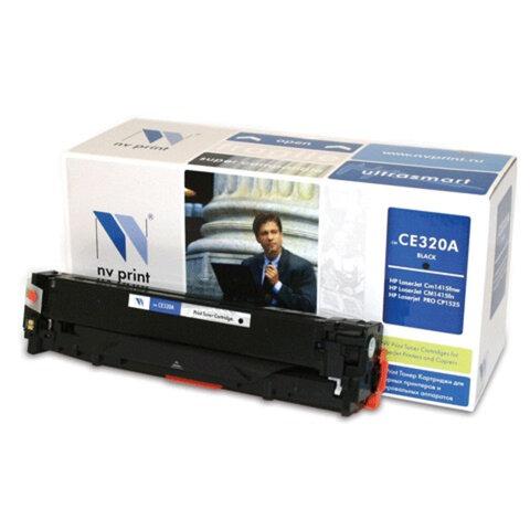 Картридж лазерный HP (CE320A) LaserJet CM1415FN/<wbr/>CP1525N, черный, ресурс 2000 страниц, NV PRINT, СОВМЕСТИМЫЙ
