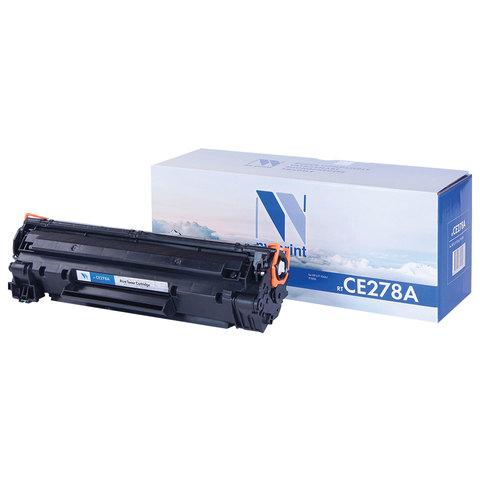 Картридж лазерный HP (CE278A) LaserJet P1566/1606DN, ресурс 2100 страниц, NV PRINT, СОВМЕСТИМЫЙ