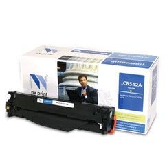 Картридж лазерный HP (CB542A) LaserJet CP1215/<wbr/>1515/<wbr/>CM1312, желтый, ресурс 1400 страниц, NV PRINT, СОВМЕСТИМЫЙ