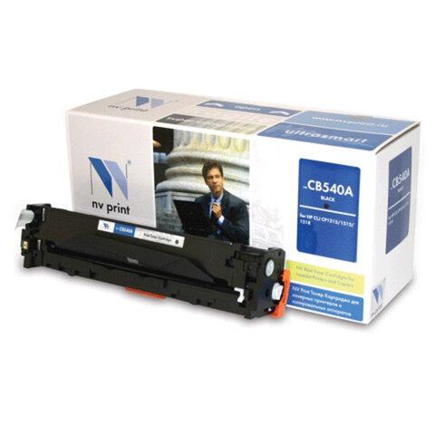Картридж лазерный HP (CB540A) LaserJet CP1215/<wbr/>1515/<wbr/>CM1312, черный, ресурс 2200 страниц, NV PRINT, СОВМЕСТИМЫЙ