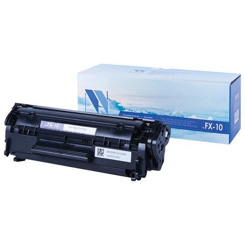 Картридж лазерный NV PRINT (NV-FX10) для CANON i-SENSYS 4018/4120/4140, ресурс 2000 стр.