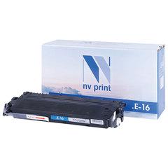 Картридж лазерный NV PRINT (NV-E16) для CANON FC-108/<wbr/>128/<wbr/>PC750/<wbr/>880, ресурс 2000 стр.