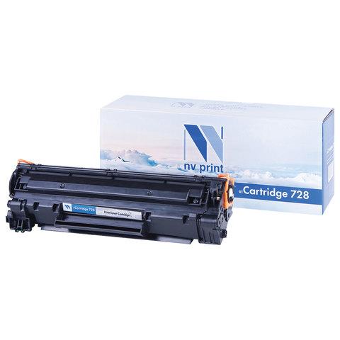 Картридж лазерный CANON (728) MF4410/4430/4450/4550dn/4580dn, ресурс 2100 страниц, NV PRINT, СОВМЕСТИМЫЙ