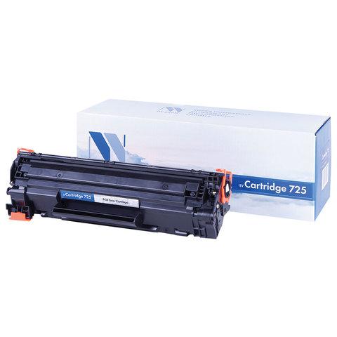 Картридж лазерный CANON (725) LBP6000, ресурс 1600 страниц, NV PRINT, СОВМЕСТИМЫЙ