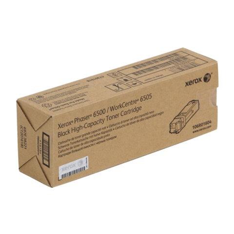 Картридж лазерный XEROX (106R01604) Phaser 6500/<wbr/>WC6505, черный, оригинальный, ресурс 3000 страниц