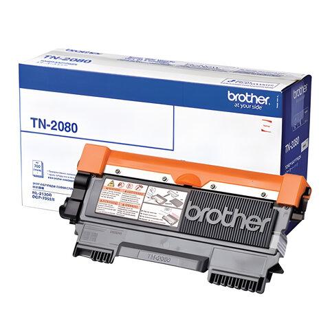 Картридж лазерный BROTHER (TN2080) HL-2130R/<wbr/>DCP-7055R и другие, оригинальный, ресурс 700 страниц