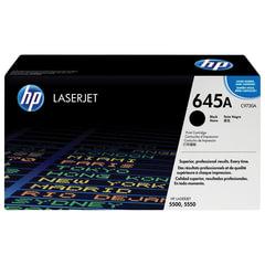 Картридж лазерный HP (C9730A) Color LaserJet 5500/<wbr/>5550, черный, оригинальный, ресурс 13000 страниц