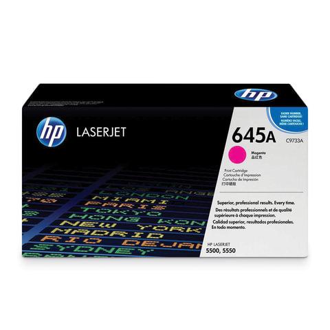 Картридж лазерный HP (C9733A) Color LaserJet 5500/5550, пурпурный, оригинальный, ресурс 12000 страниц