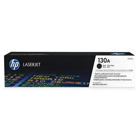 Картридж лазерный HP (CF350A) ColorLaserJet M176n/<wbr/>M177fw, черный, оригинальный, ресурс 1300 стр.