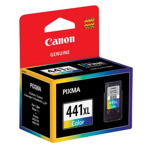 Картридж струйный CANON (CL-441XL) PIXMA MG2140/<wbr/>3140/<wbr/>3540/<wbr/>4240, цветной, оригинальный, ресурс 400 стр., увеличенная емкость