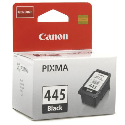 Картридж струйный CANON (PG-445) PIXMA MG2440/<wbr/>PIXMA MG2540, черный, оригинальный, ресурс180 стр.