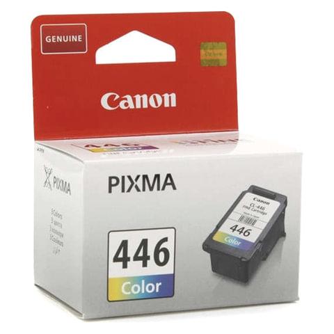 Картридж струйный CANON (CL-446) PIXMA MG2440/PIXMA MG2540, цветной, оригинальный, ресурс 180 стр.