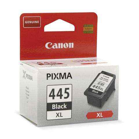 Картридж струйный CANON (PG-445XL) PIXMA MG2440/PIXMA MG2540, черный, оригинальный, ресурс 400 стр., увеличенная емкость
