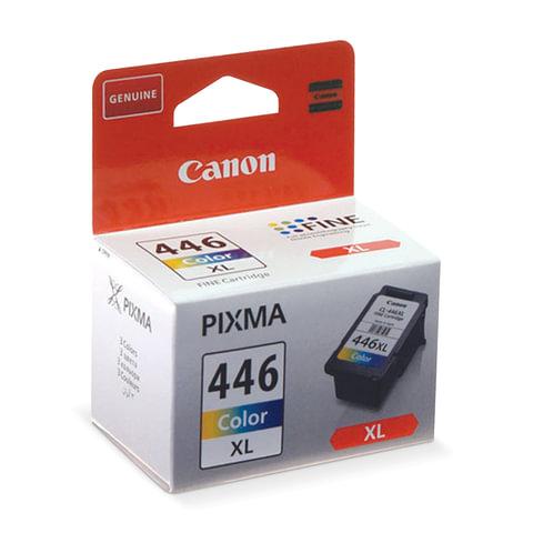 Картридж струйный CANON (CL-446XL) PIXMA MG2440/<wbr/>PIXMA MG2540, цветной, оригинальный, ресурс 300 стр., увеличенная емкость