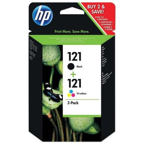 Картридж струйный HP (CN637HE) Deskjet F4275/F4283, комплект, оригинальный, черный и цветной