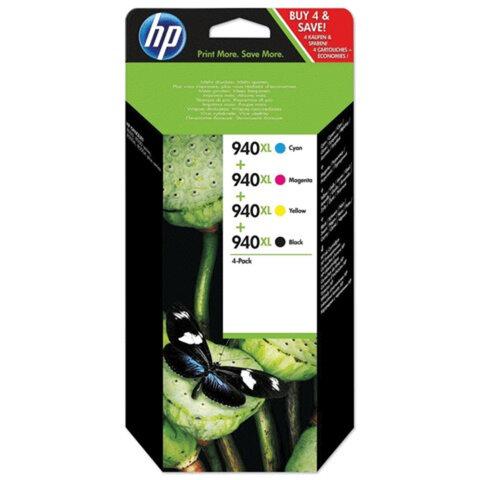 Картридж струйный HP (C2N93AE)Officejet pro 8000/<wbr/>8500, комплект, оригинальный, 4 цвета