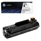 Картридж лазерный HP (CF283X) LaserJet Pro M201/<wbr/>M225, черный, оригинальный, ресурс 2200 стр.