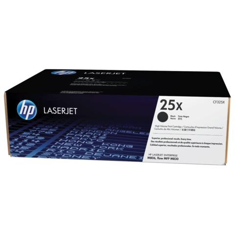 Картридж лазерный HP (CF325X) LaserJet M830z/M806dn/M806x+, черный, оригинальный, ресурс 40000 стр.
