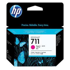 Картридж струйный для плоттера HP (CZ135A) Designjet T120/<wbr/>520, пурпурный, комплект 3 шт. х 29 мл, оригинальный