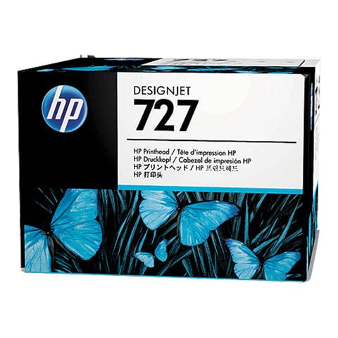 Головка печатающая для плоттера HP (B3P06A) Designjet T920/1500, №727, 6-цветная, оригинальная