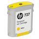 Картридж струйный для плоттера HP (B3P15A) Designjet T920/<wbr/>1500, №727, желтый, 40 мл, оригинальный