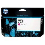 Картридж струйный для плоттера HP (B3P20A) Designjet T920/<wbr/>1500, №727, пурпурный, 130 мл, оригинальный