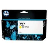 Картридж струйный для плоттера HP (B3P21A) Designjet T920/<wbr/>1500, №727, желтый, 130 мл, оригинальный