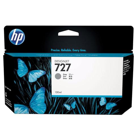 Картридж струйный для плоттера HP (B3P24A) Designjet T920/<wbr/>1500, №727, серый, 130 мл, оригинальный