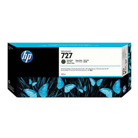 Картридж струйный для плоттера HP (C1Q12A) Designjet T920/<wbr/>1500, №727, черный матовый, 300 мл, оригинальный