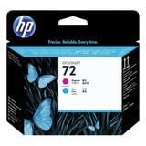 Головка печатающая для плоттера HP (C9383A) Designjet T610/<wbr/>795/<wbr/>1100 и др,. №72, пурпурная и голубая, оригинальная