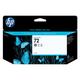 Картридж струйный для плоттера HP (C9374A) Designjet T610/<wbr/>795/<wbr/>1100 и др., №72, серый, 130 мл, оригинальный