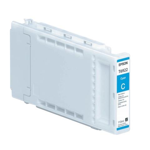 Картридж струйный для плоттера EPSON (C13T692200) Epson SC-T3000/3200/5200 и др., голубой, 110 мл, оригинальный