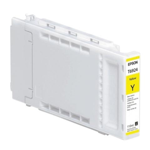 Картридж струйный для плоттера EPSON (C13T692400) Epson SC-T3000/3200/5200 и др., желтый, 110 мл, оригинальный