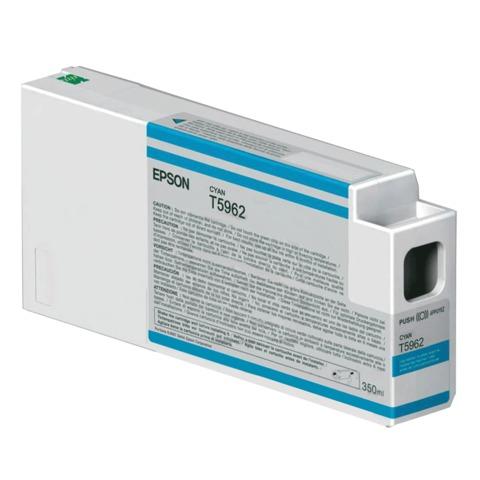 Картридж струйный для плоттера EPSON (C13T596200) Epson StylusPro 7890 и др., голубой, 350 мл, оригинальный