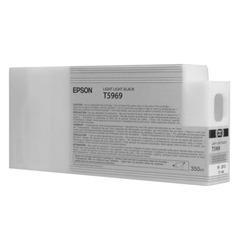 Картридж струйный для плоттера EPSON (C13T596900) Epson StylusPro 7890 и др., светло-серый, 350 мл, оригинальный