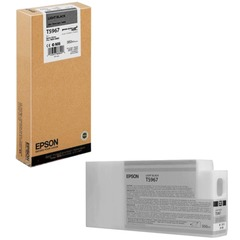Картридж струйный для плоттера EPSON (C13T596700) Epson StylusPro 7890 и др., серый, 350 мл, оригинальный