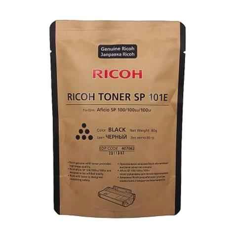 Тонер RICOH (SP101E) для SP100/111/200/202/203/210/212, пакет 80 г, оригинальный