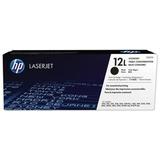 Картридж лазерный HP (Q2612L) LaserJet 1018/<wbr/>3052/<wbr/>М1005 и другие, №12L, оригинальные, ресурс 1000 стр.