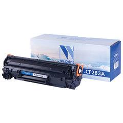 Картридж лазерный HP (CF283A) LaserJet Pro M125/<wbr/>M201/<wbr/>M127, черный, ресурс 1500 стр., NV PRINT СОВМЕСТИМЫЙ