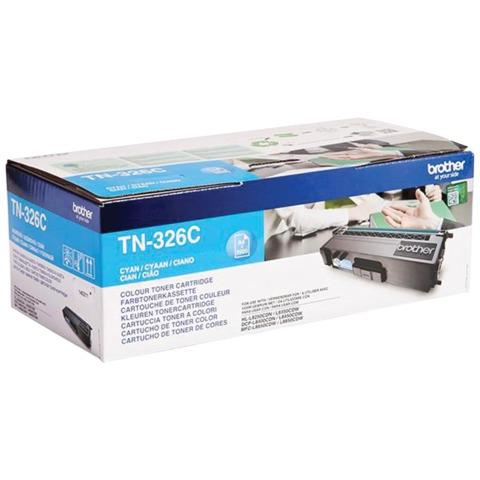 Картридж лазерный BROTHER (TN326C) HL-L8250CDN/<wbr/>MFC-L8650CDW, голубой, оригинальный, ресурс 4000 стр.