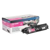 Картридж лазерный BROTHER (TN326M) HL-L8250CDN/<wbr/>MFC-L8650CDW, пурпурный, оригинальный, ресурс 4000 стр.