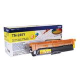 Картридж лазерный BROTHER (TN245Y) HL-3140CW/<wbr/>DCP-9020CDW/<wbr/>MFC-9140CDN и другие, желтый, оригинальный, ресурс 2200 стр.