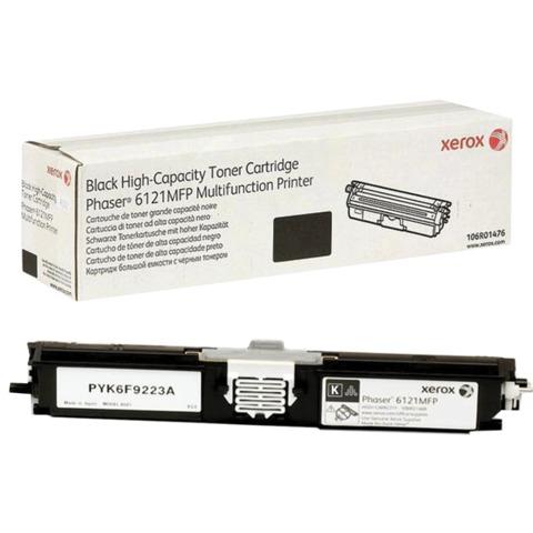 Картридж лазерный XEROX (106R01476) Phaser 6121MFP, черный, оригинальный, ресурс 2600 стр.