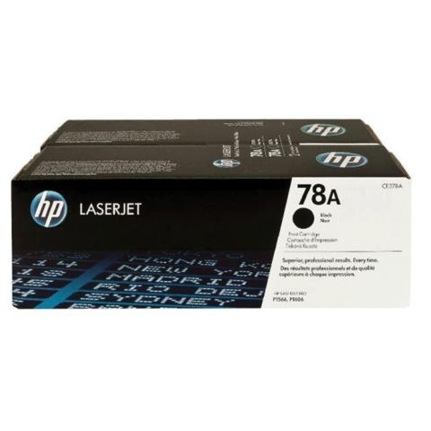 Картридж лазерный HP (CE278AF) LaserJet P1566/<wbr/>1606DN и др., №78А, комплект 2 шт., оригинальный, ресурс 2*2100 стр.