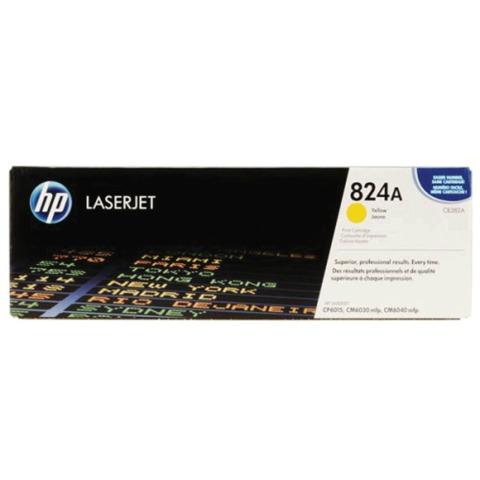 Картридж лазерный HP (CB382A) ColorLaserJet CM6040/<wbr/>CM6030/<wbr/>CP6015, желтый, оригинальный, ресурс 21000 стр.