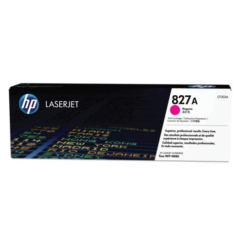 Картридж лазерный HP (CF303A)ColorLaserJet Enterprise flowM880, пурпурный, оригинальный, ресурс 32000 стр.