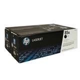 Картридж лазерный HP (CE285AF) LaserJet P1102/<wbr/>P1102W/<wbr/>M1212NF, №85А, комплект 2 ш.т, оригинальный, ресурс 2*1600 стр.